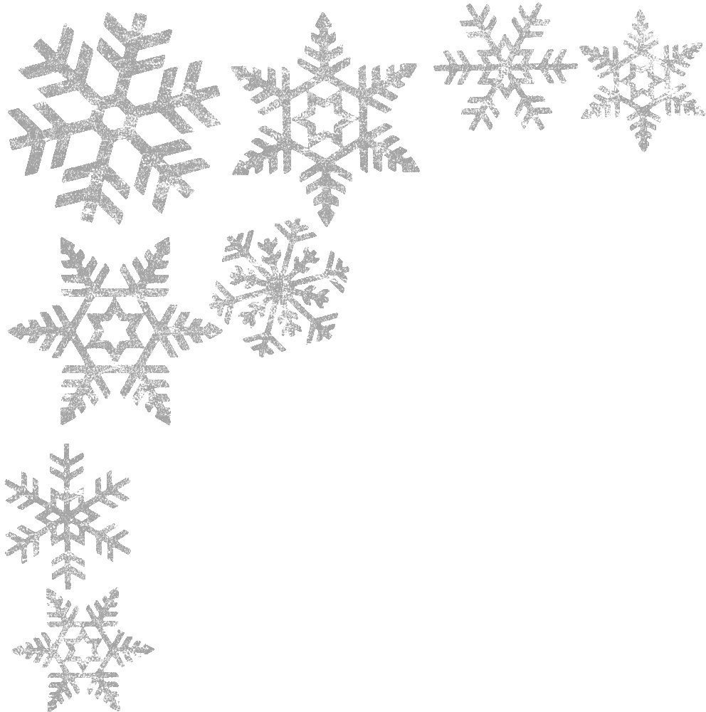 graphic freeuse  collection of christmas. Free snowflake clipart borders