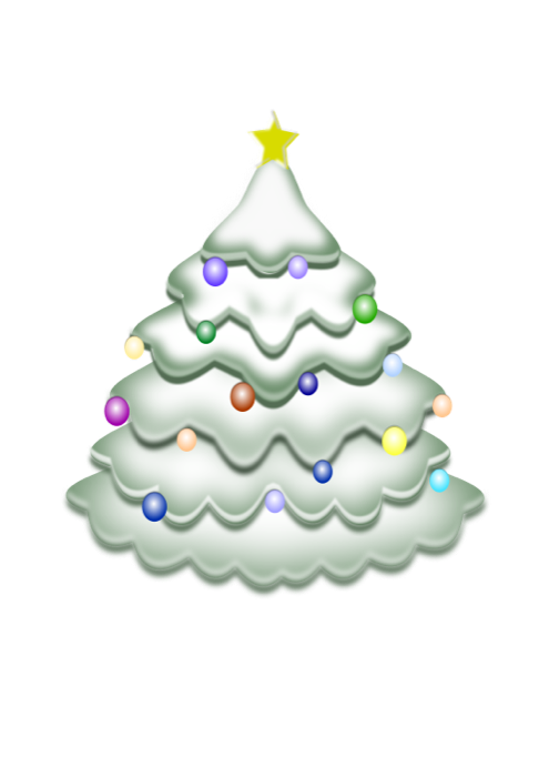 image library library Christmas Tree Clipart
