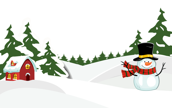 png freeuse library Snowy ground with png. Snowman border clipart
