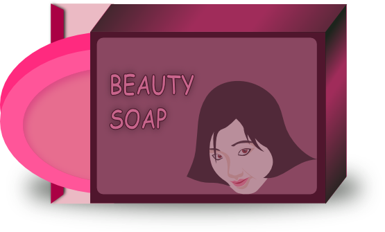 svg black and white stock Soap clipart. For a beauty clip.