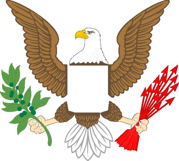 free Plain Eagle Clip Art at Clker