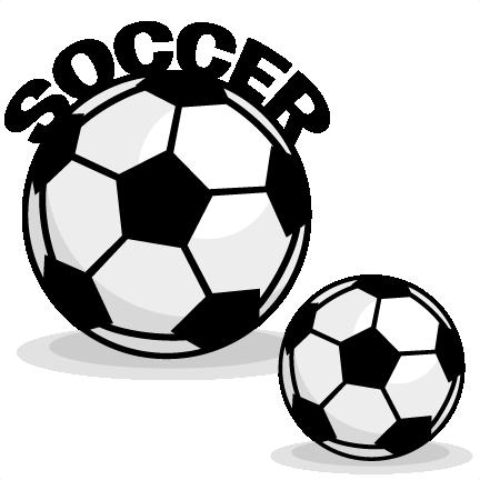 transparent stock Soccer clipart. Set svg scrapbook cut