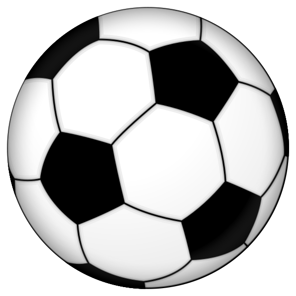 svg library library Printable ball group picture. Soccer clipart