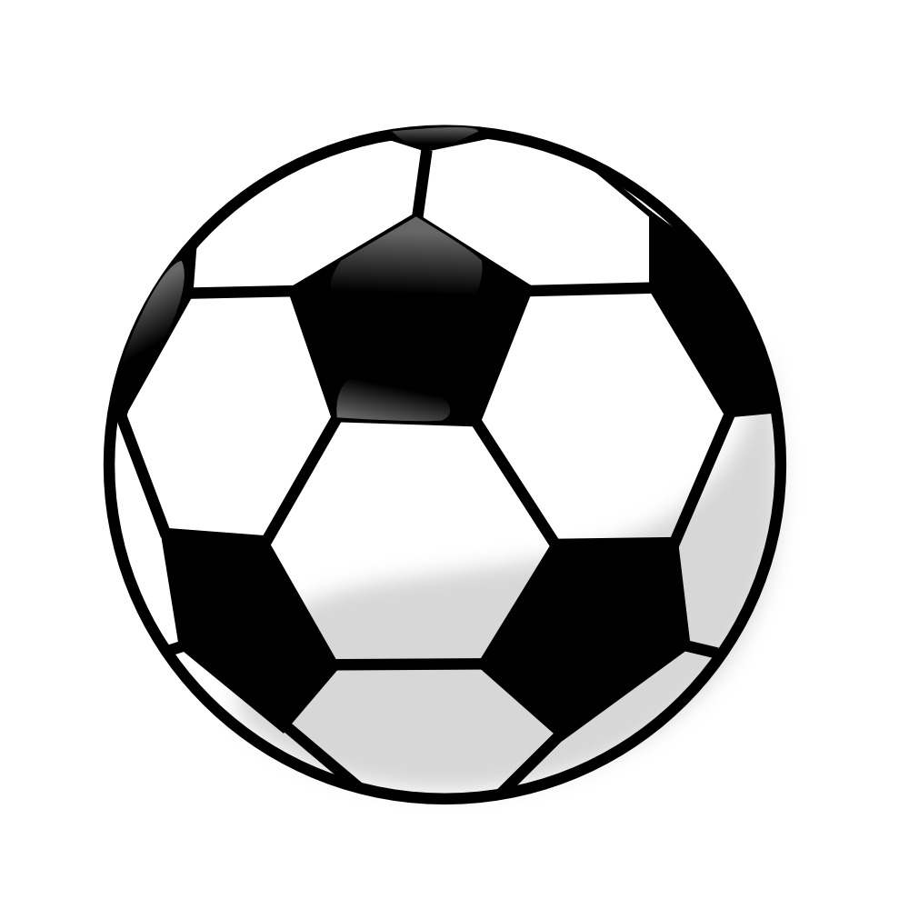 clip black and white download Soccer clipart. Image of clipartoons