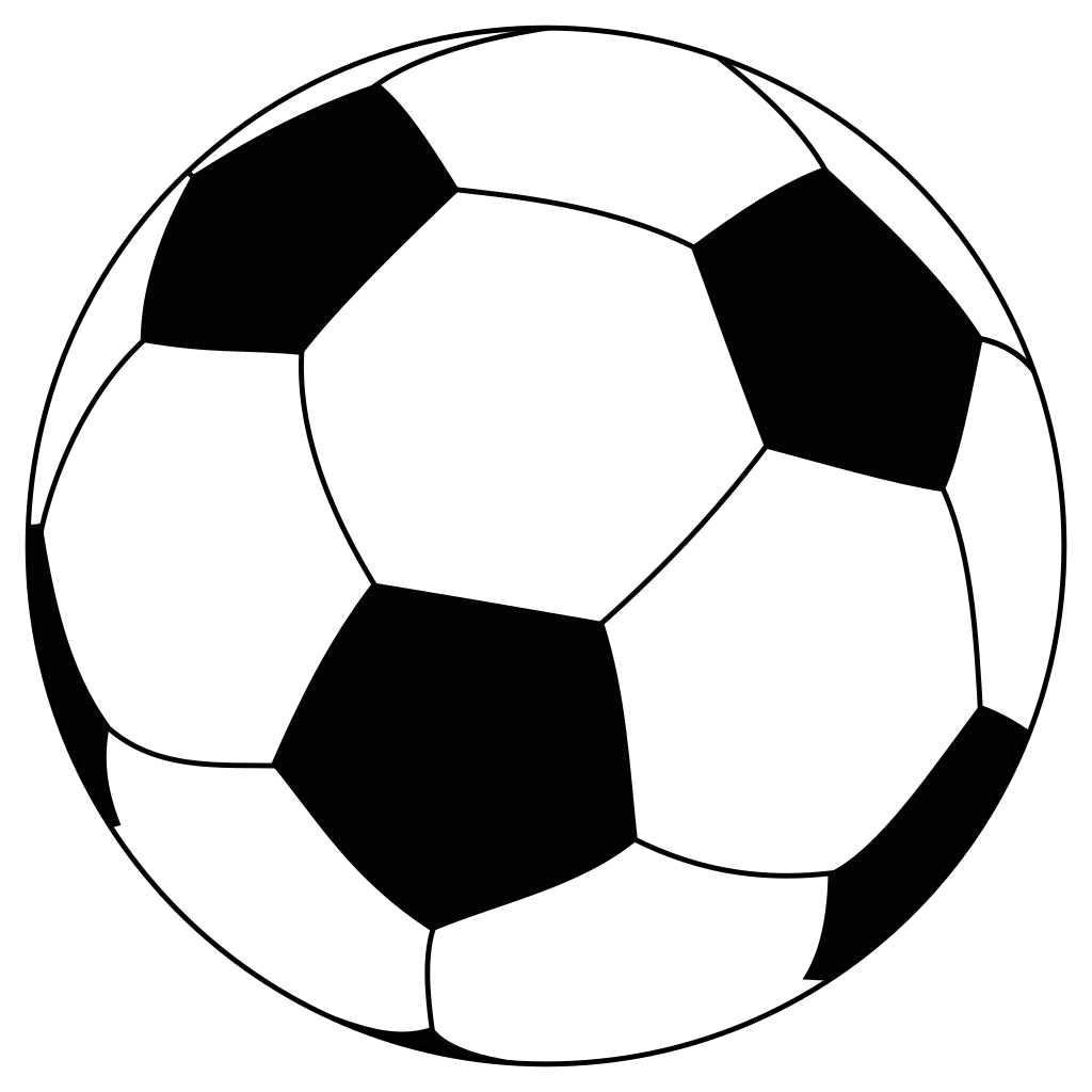 graphic royalty free stock Soccer Line Drawing at GetDrawings