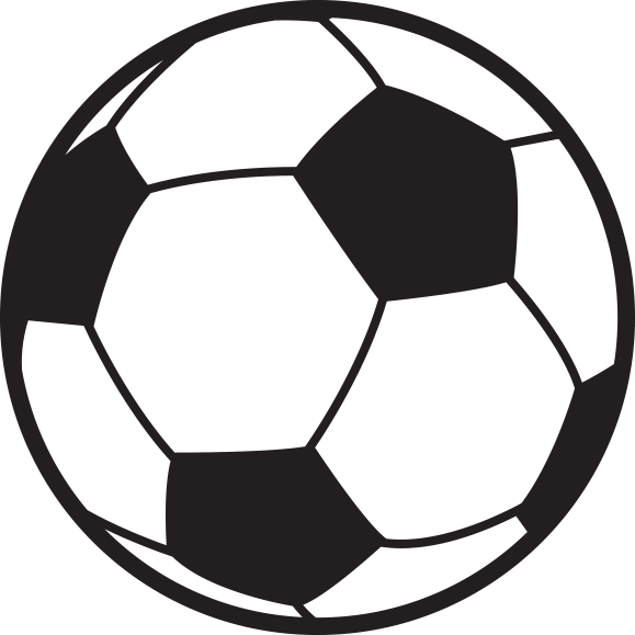 svg library download Pencil and in color. Soccer clipart outline