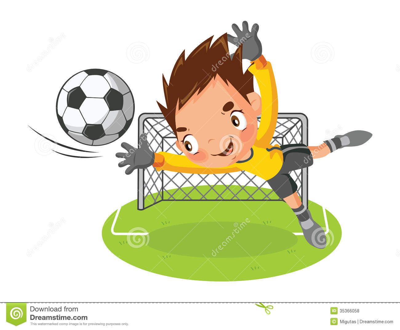 picture freeuse Clip art goalkeeper royalty. Soccer goalie clipart