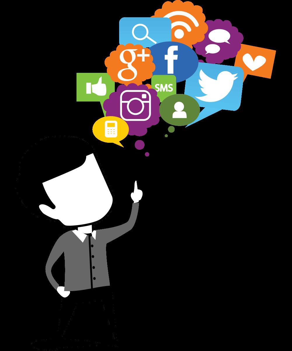 clip art royalty free Social media cilpart pleasurable. Advertising clipart marketing