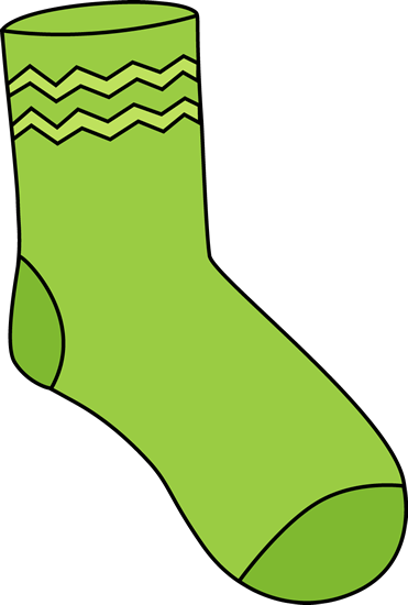 graphic library stock Sock clipart. Clip art images green.