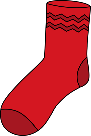vector library download Clip art images red. Sock clipart.
