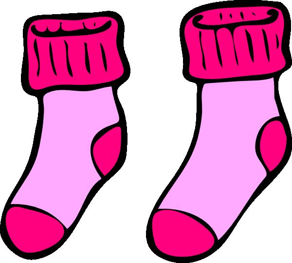 clip art royalty free Pink socks clip art. Sock clipart.