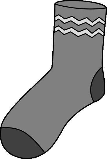 clipart stock Sock clipart. Clip art images gray.