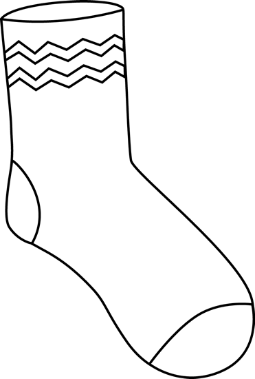 graphic black and white download Funky sock pinterest. Yes clipart black and white