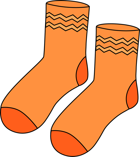 image free stock Colorful Socks Clipart