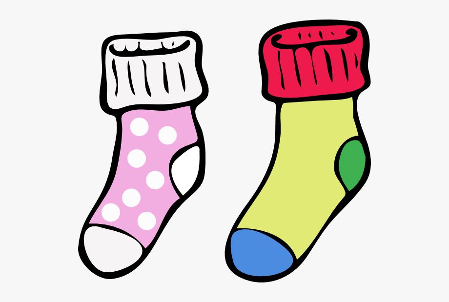royalty free stock Clothing clip art free. Socks clipart.