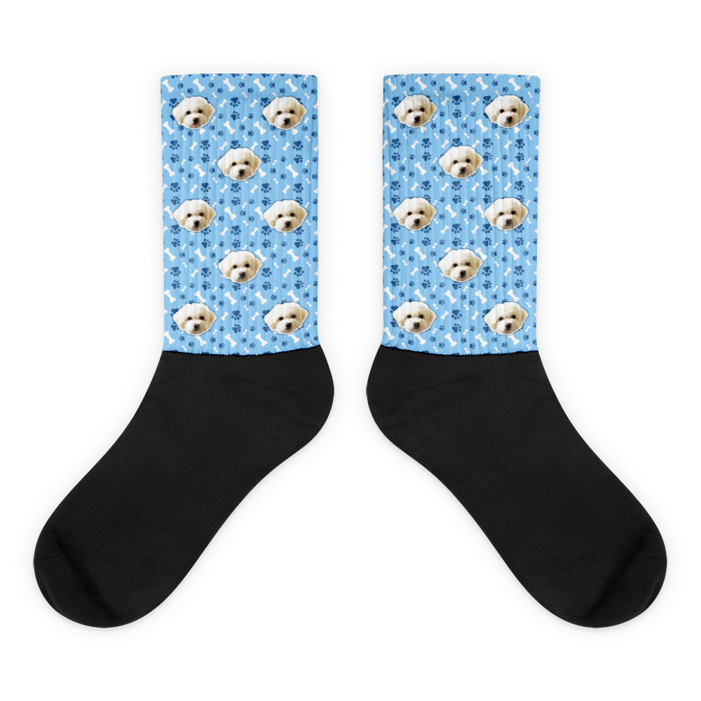 banner royalty free download Custom Pet Pattern Printed Socks