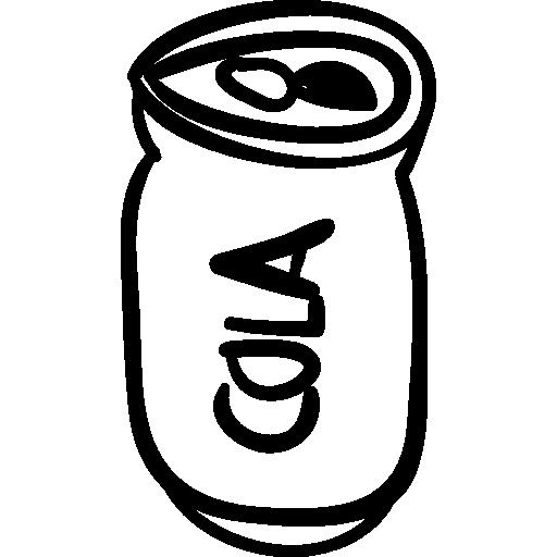 image download Soda clipart black and white. Cola coca zero icon