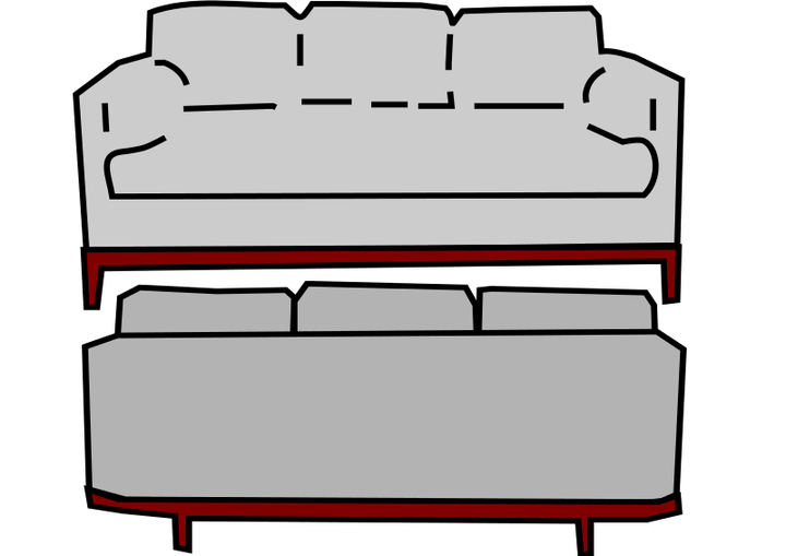image transparent Couch clipart back couch