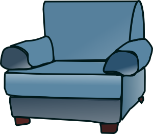 picture royalty free library Loveseat Clip Art at Clker