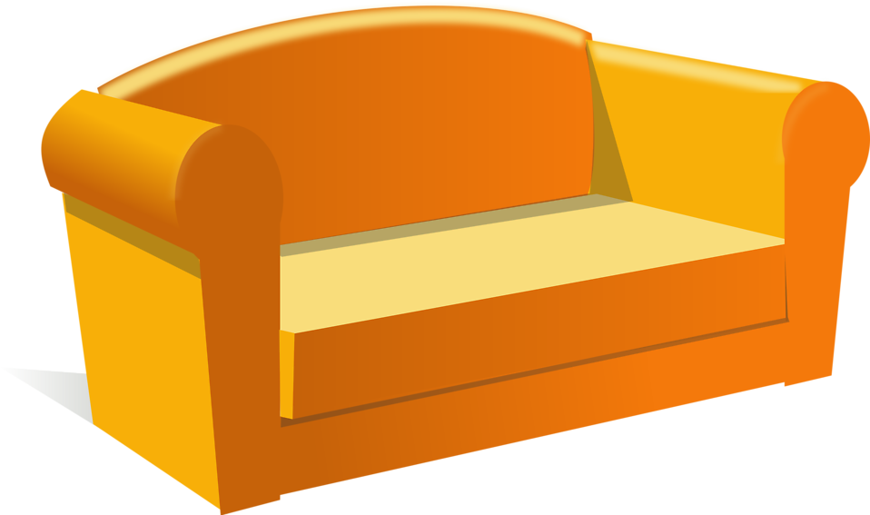 clipart black and white library sofa clipart soft object #83655006