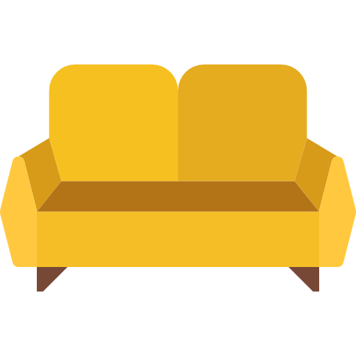 clipart transparent stock sofa Icon