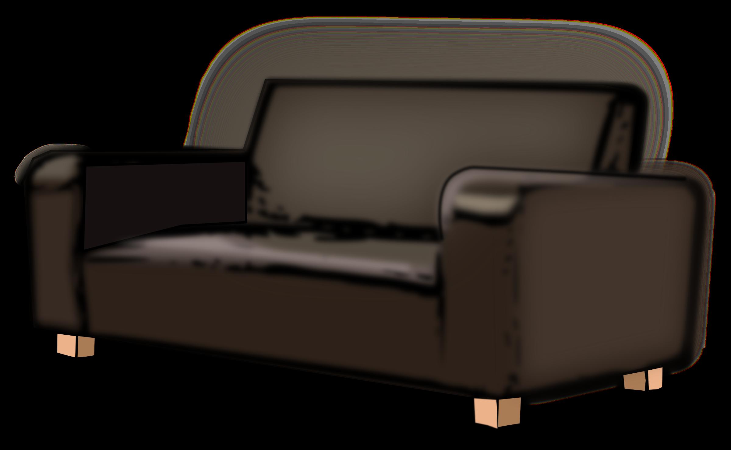clipart transparent Big image png. Sofa clipart.