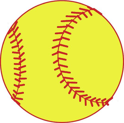 svg royalty free Softball clipart. Free download images .