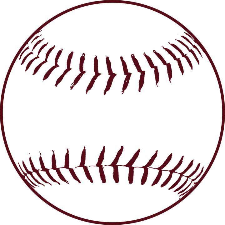 vector black and white library Softball clipart. Thread frames illustrations hd.