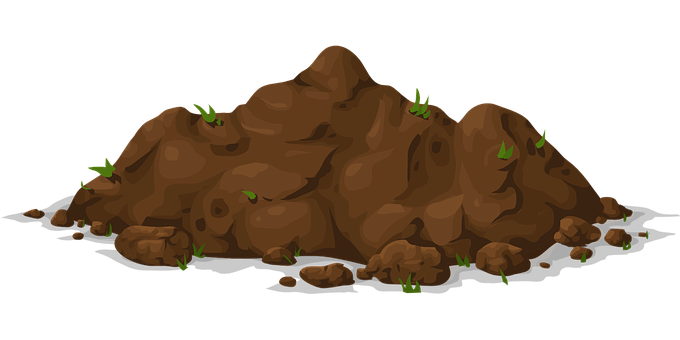 jpg library download Soil clipart. Transparent background free on.