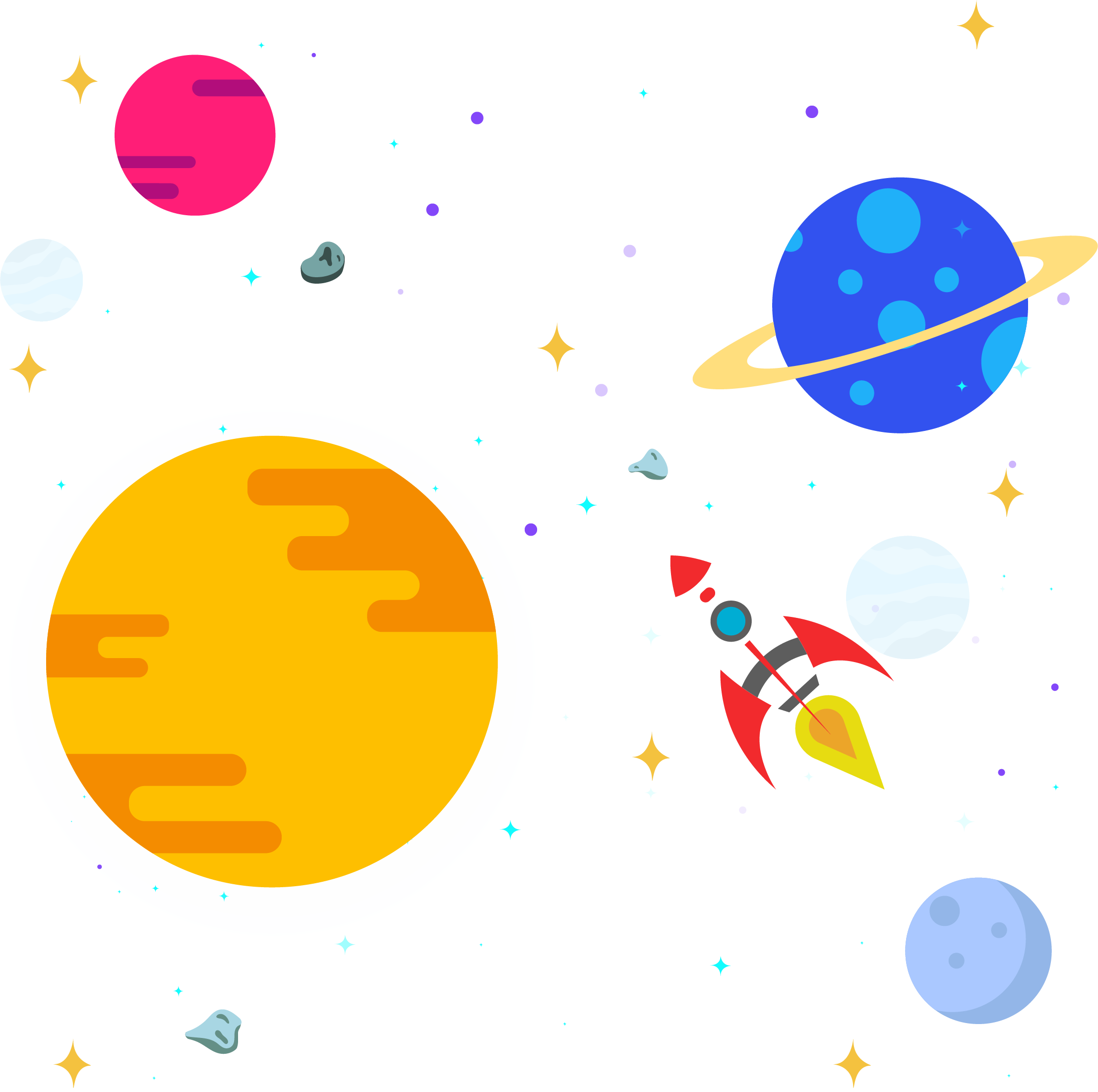 clipart library library Solar System Planets Clipart at GetDrawings