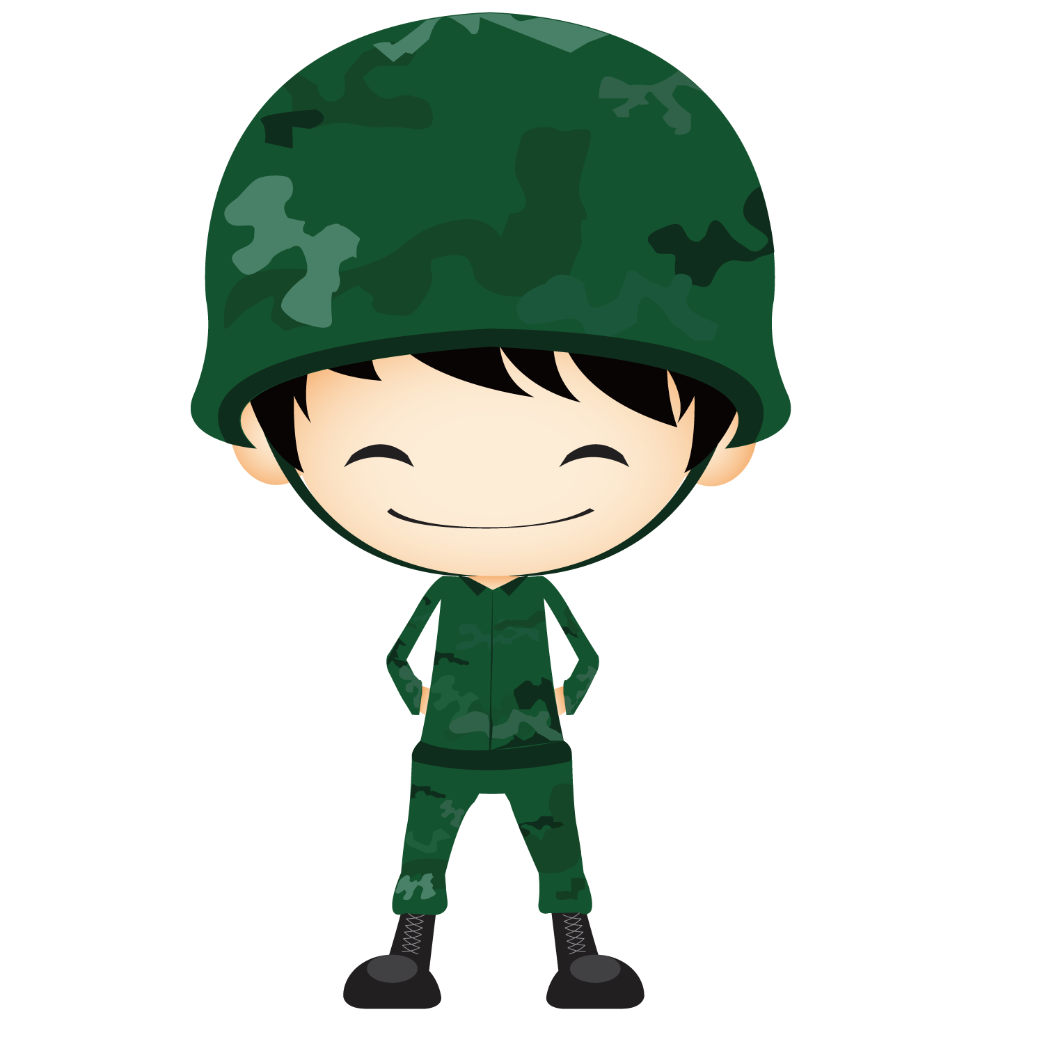 jpg royalty free download Clip art cute transprent. Clipart army soldier