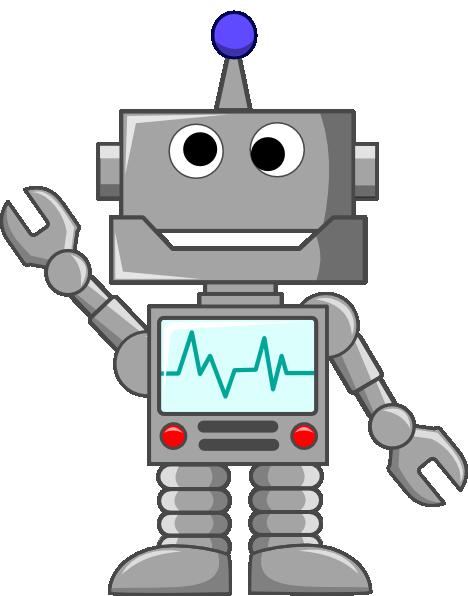 jpg transparent download Robot Clipart easy