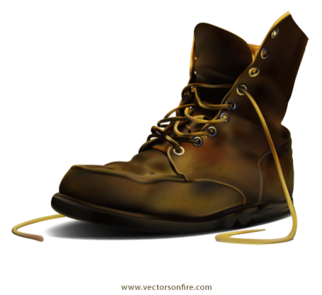 picture Army boots clipart. Free boot by irmi