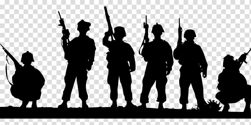 jpg Soldiers clipart. Soldier silhouette military transparent.