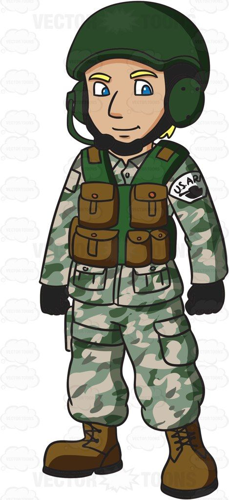 black and white library Army man clipart. A us tank operator