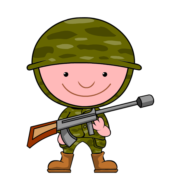 freeuse download Free army clipart. Soldier kid camo pnglogocoloring