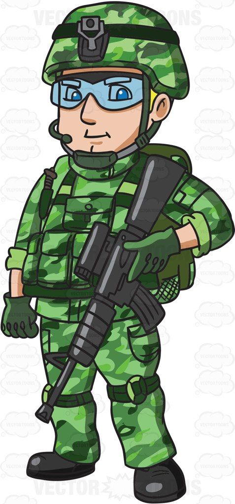 image royalty free download Army guy clipart. A us special forces.