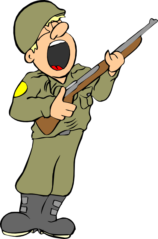 clip freeuse library Army man clipart. Guy at getdrawings com