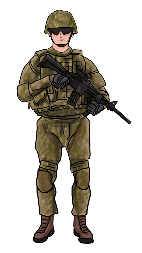 freeuse library U s army clipart. Man at getdrawings com