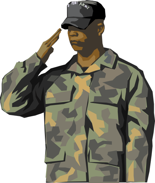 vector free library Army Veteran Clip Art at Clker