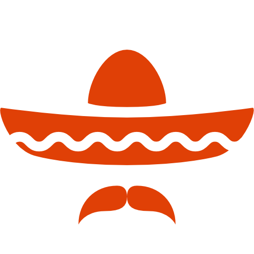picture Sombrero silhouette at getdrawings. Mexico clipart boot mexican.