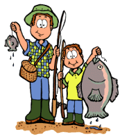 clipart royalty free download Son clipart. Dad fishing png panda.