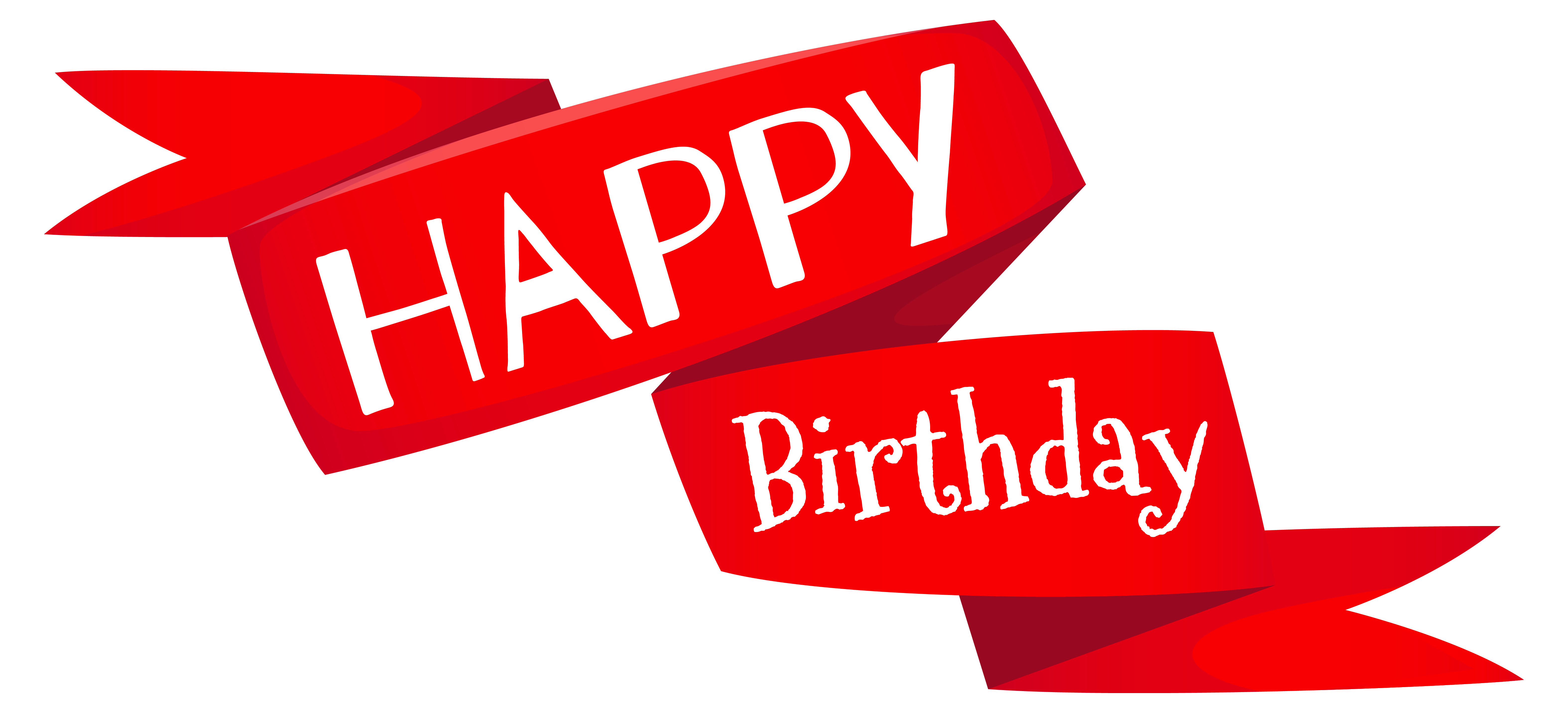 clipart library library Happy birthday banner clipart. Red png image gallery