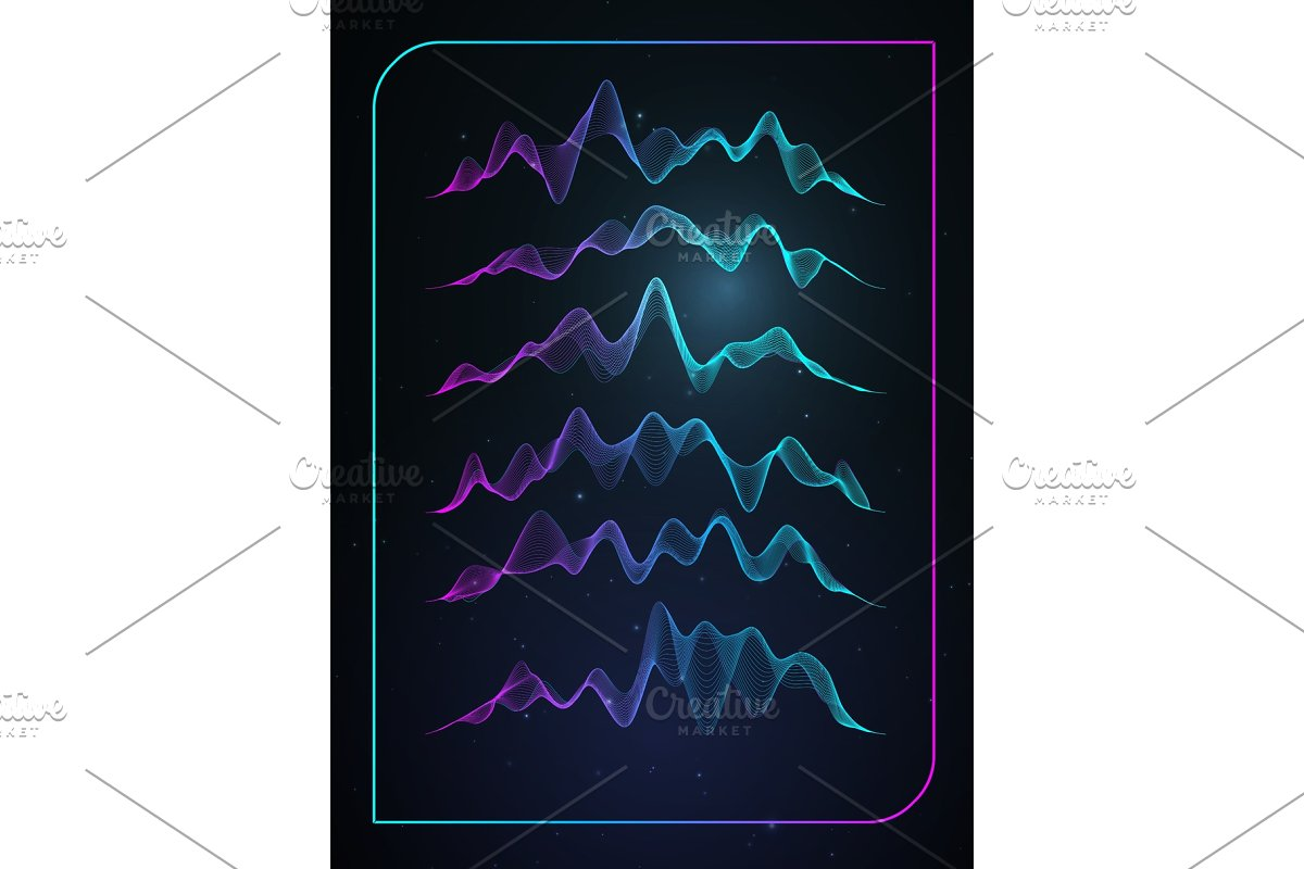 clipart freeuse Sound wave vector