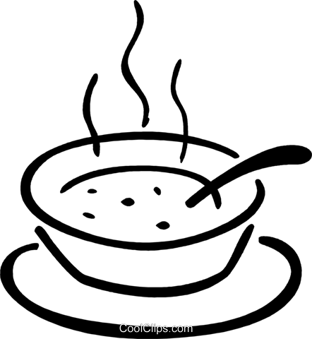 svg library download soup clipart black and white #58739935