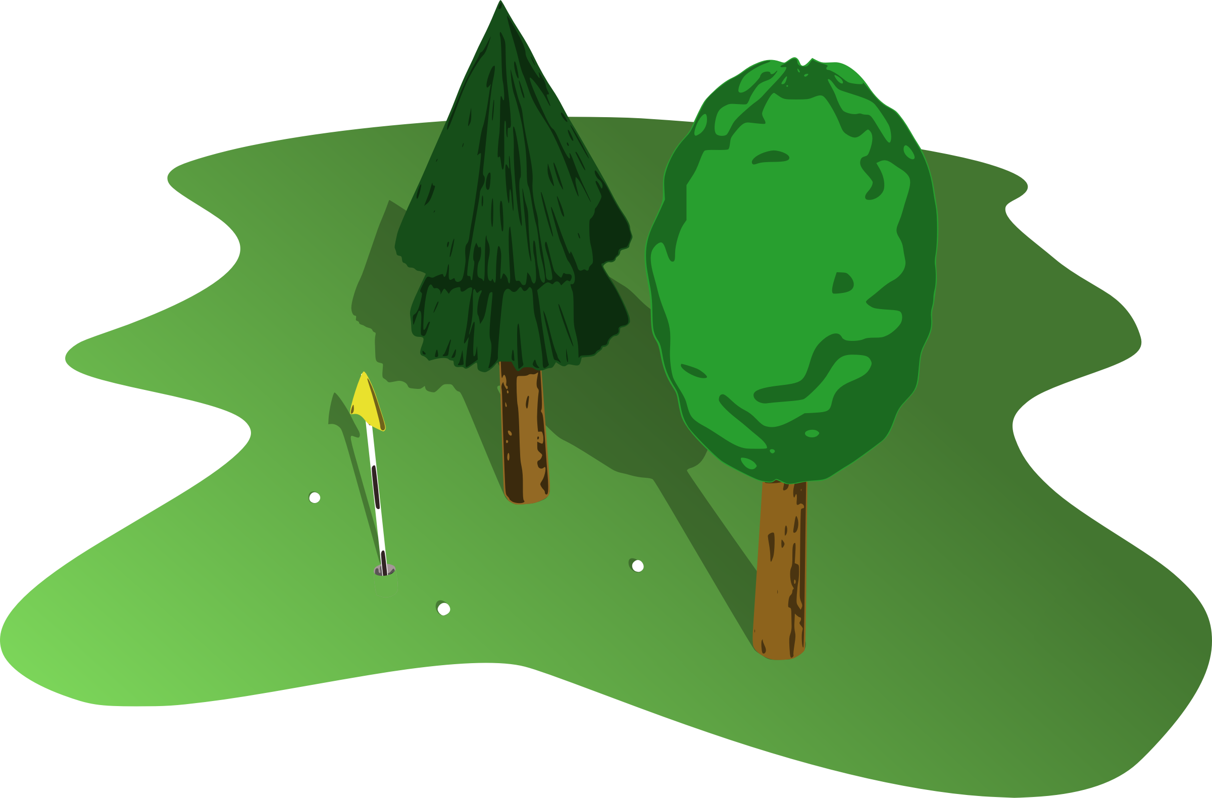 clip freeuse library Golf green icons png. Source clipart course