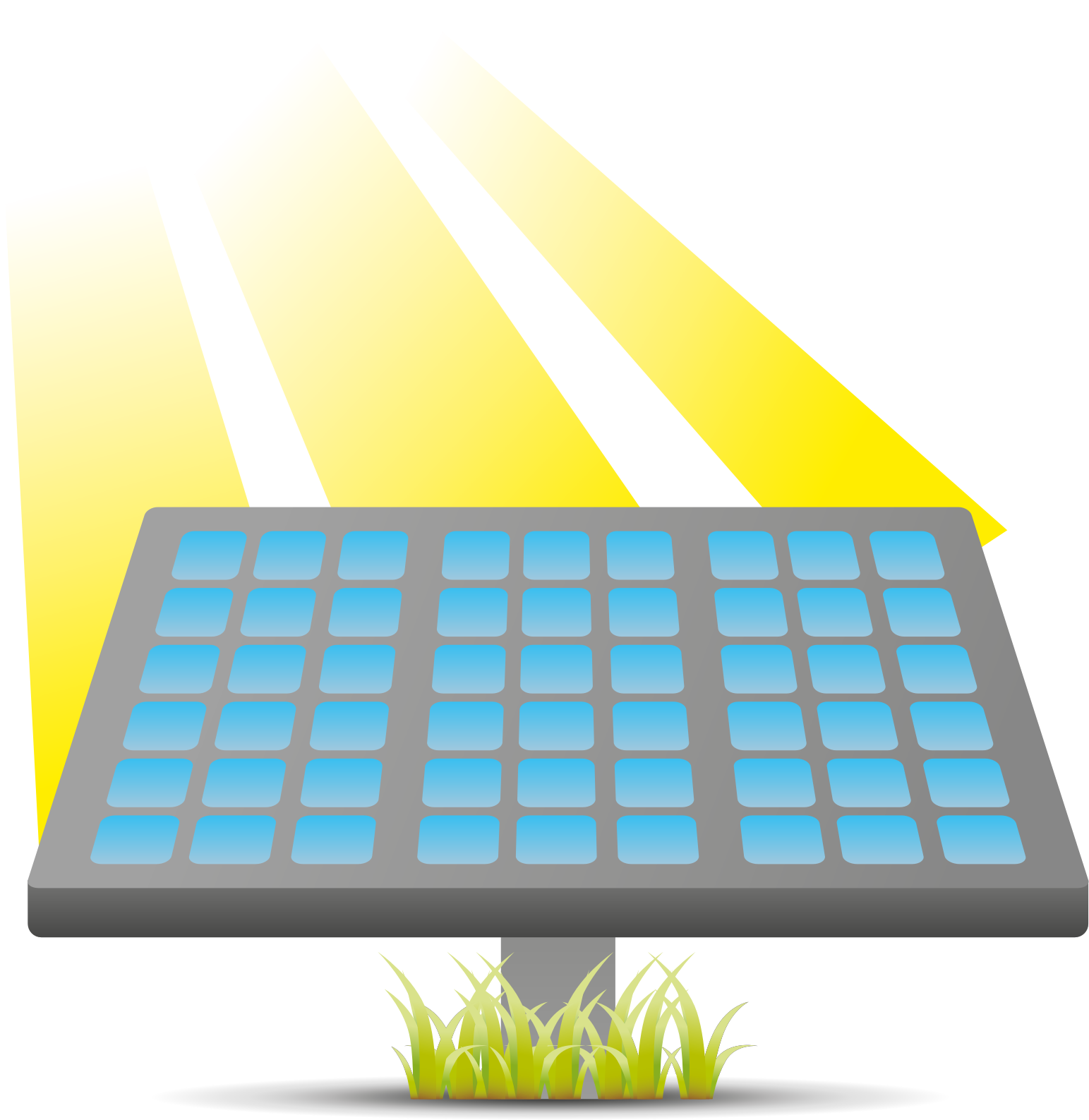 picture black and white stock Source clipart solar cell. Pannello fotovoltaico icons png.