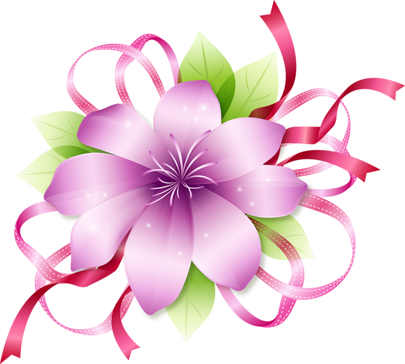 picture free library Spa flowers clipart. Pink pinterest flower images