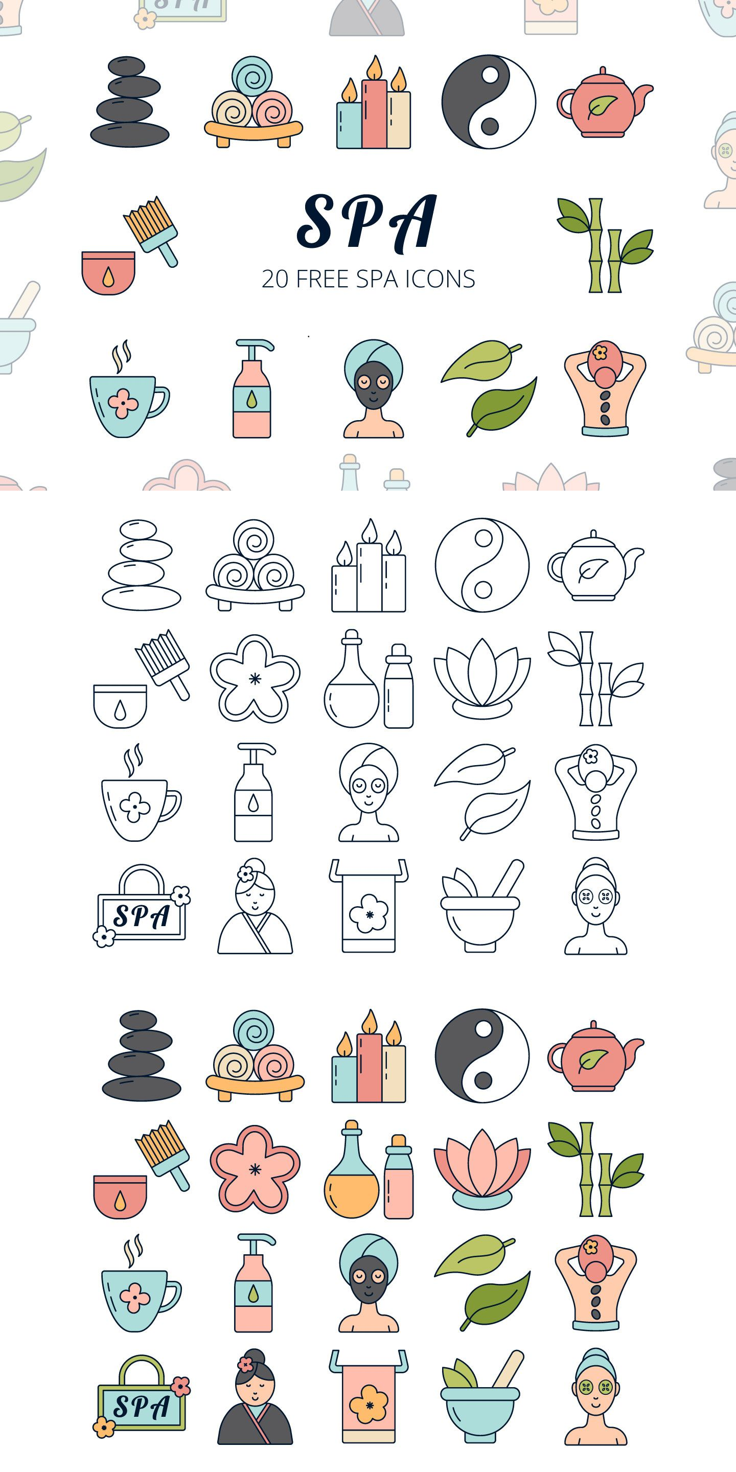 jpg black and white Spa vector. We publish free icon.