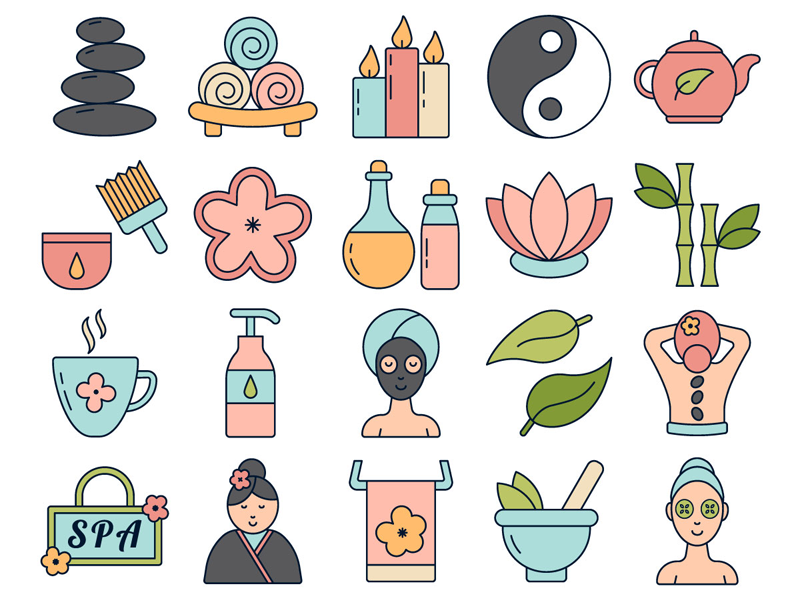 clip art library download Freebie icon set by. Spa vector.